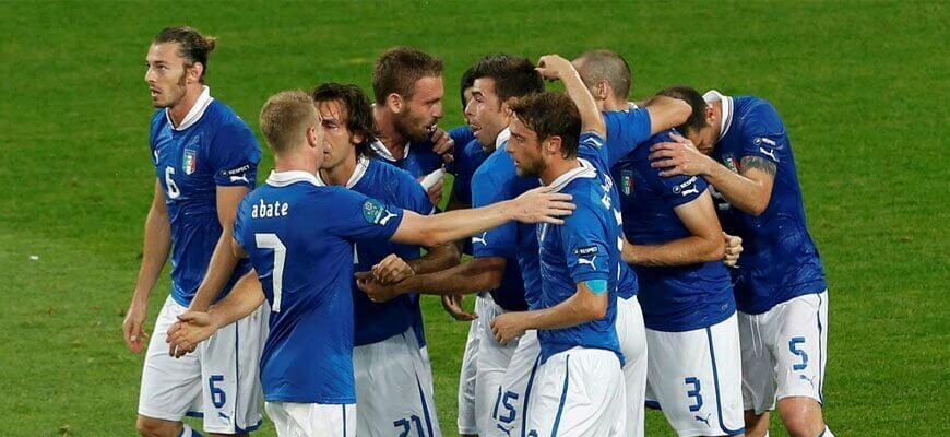 Лучшие нападающие сборной Италии
