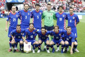 Сборная Хорватии на чемпионате Европы 2008