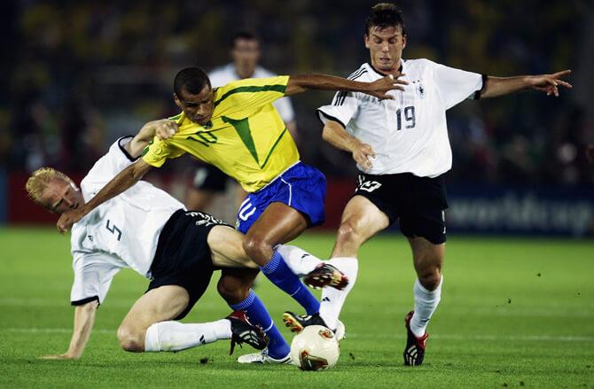 Футбольные противостояния: Бразилия - Германия