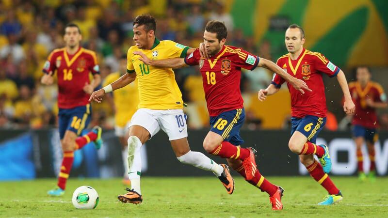 Футбольные противостояния: Бразилия - Испания