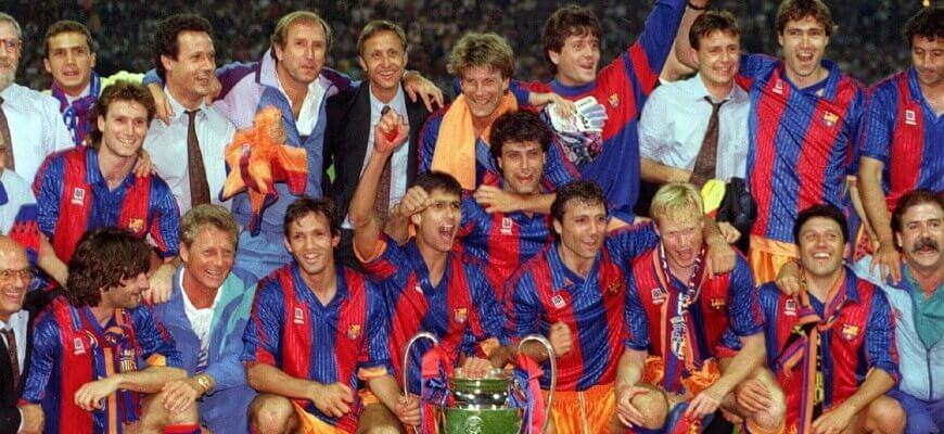 "Команды, которых нам не хватает: ""Барселона"" Йохана Кройфа"