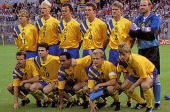 Сборная Швеции на чемпионате Европы 1992 года