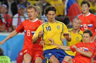 Россия - Швеция на Евро-2008