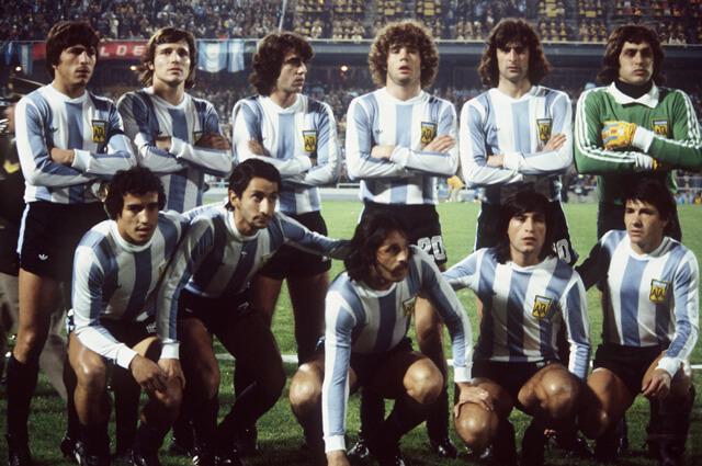 Сборная Аргентины на чемпионате мира 1978 года
