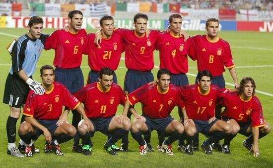 Сборная Испании на чемпионате мира 2002 года