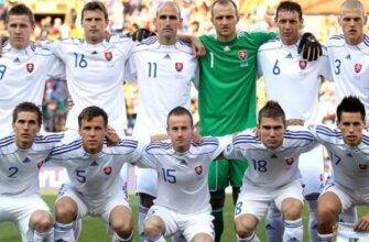 Сборная Словакии на чемпионате мира 2010 года