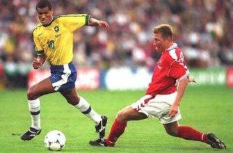 Бразилия - Дания: четвертьфинал ЧМ-1998