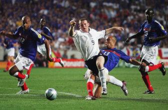 Франция - Англия на Евро-2004