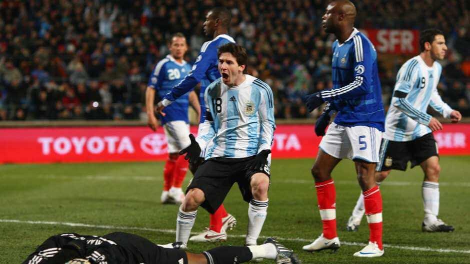 Футбольные противостояния: Аргентина - Франция