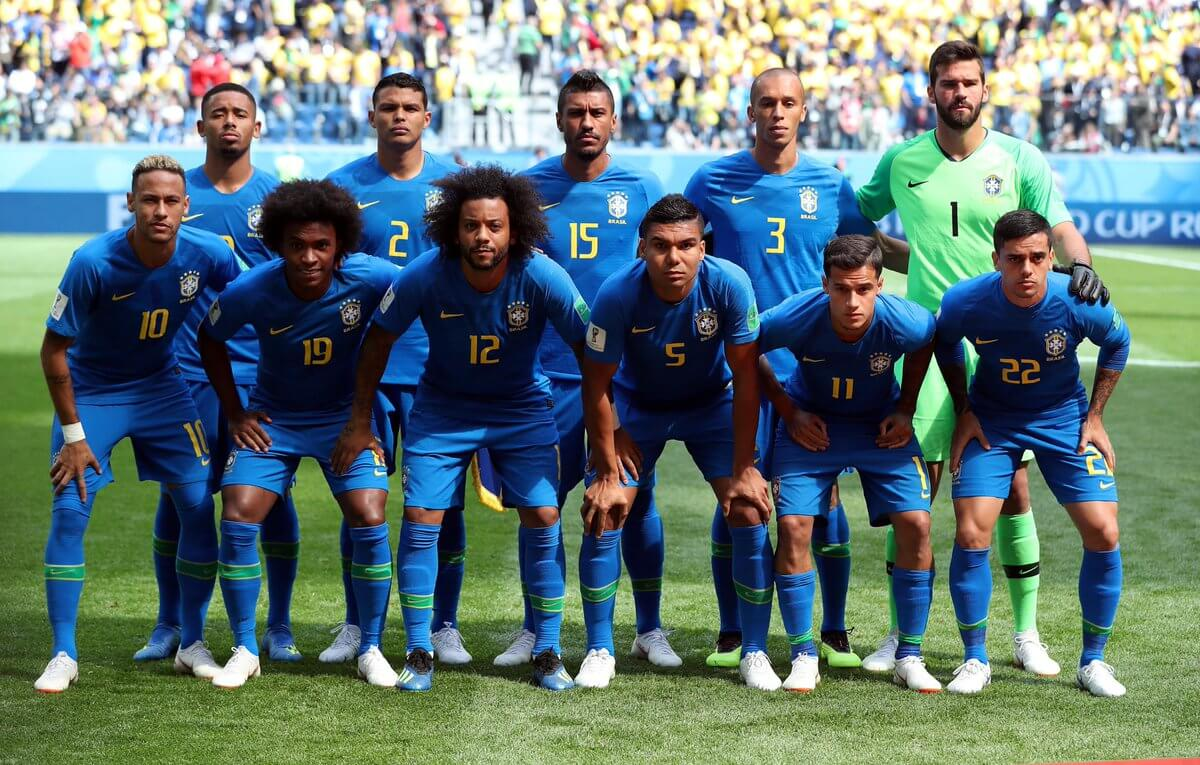 Сборная Бразилии на чемпионате мира 2018 года