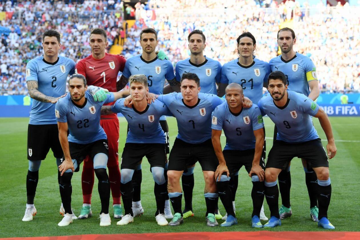 Сборная Уругвая на чемпионате мира 2018 года
