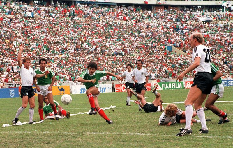 ЧМ-1986: ФРГ - Мексика