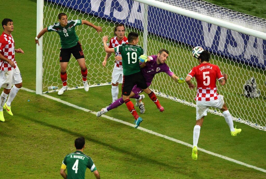 ЧМ-2014: Мексика - Хорватия