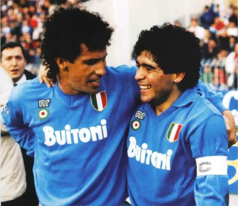 Марадона и Карека