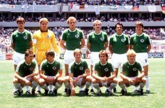 Сборная ФРГ на чемпионате мира 1986 года