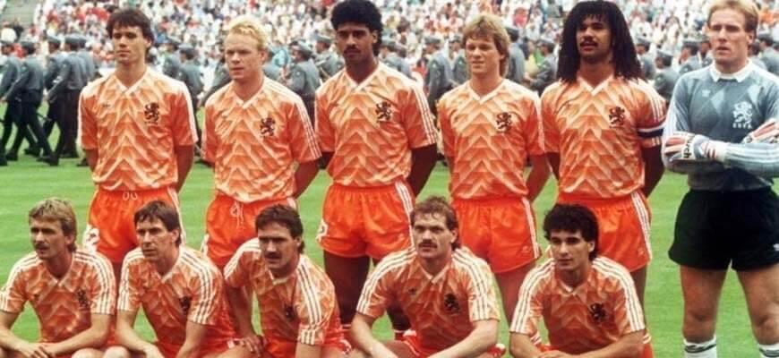 Сборная Голландии на чемпионате Европы 1988 года