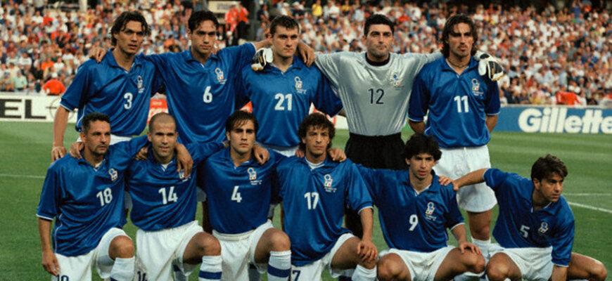 Сборная Италии на чемпионате мира 1998 года