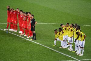 Англия - Колумбия на ЧМ-2018