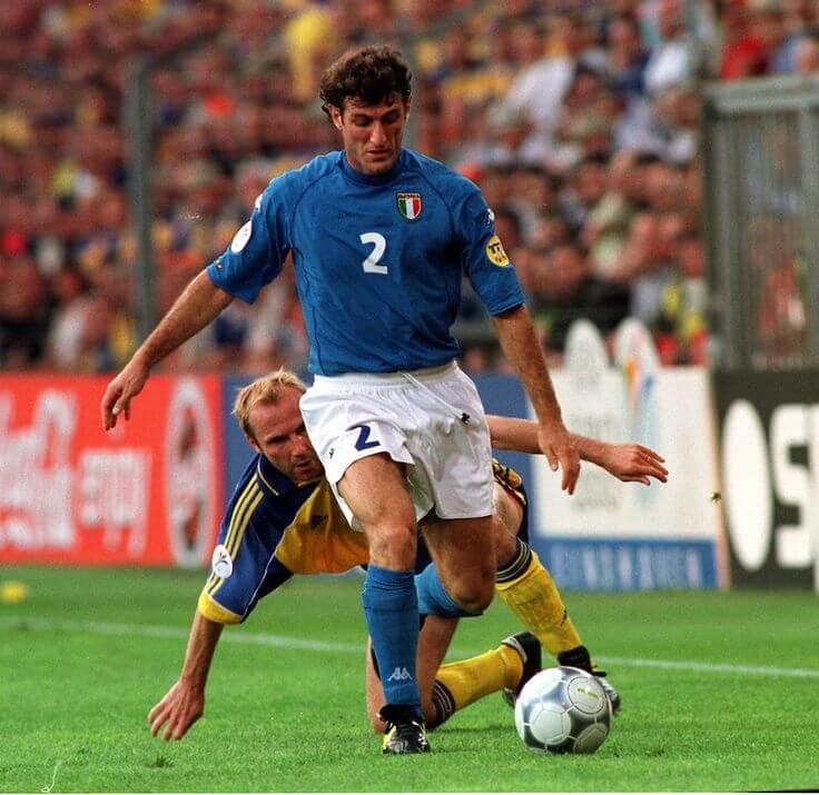 Футболист сборной Италии Чиро Феррара