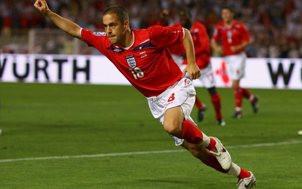 Футболист сборной Англии Джо Коул