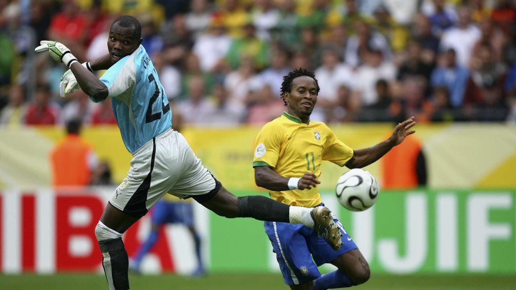Футболист сборной Бразилии Зе Роберто