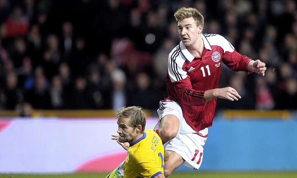 Футболист сборной Дании Никлас Бендтнер