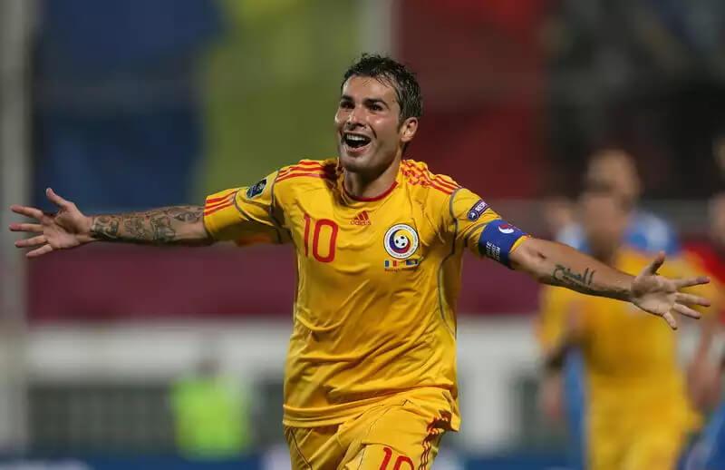 Футболист сборной Румынии Адриан Муту