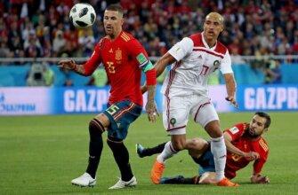 Испания - Марокко на ЧМ-2018