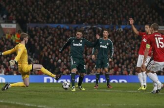 """""""Манчестер Юнайтед"""" - Реал"""": четвертьфинал Лиги чемпионов 2012-2013"""