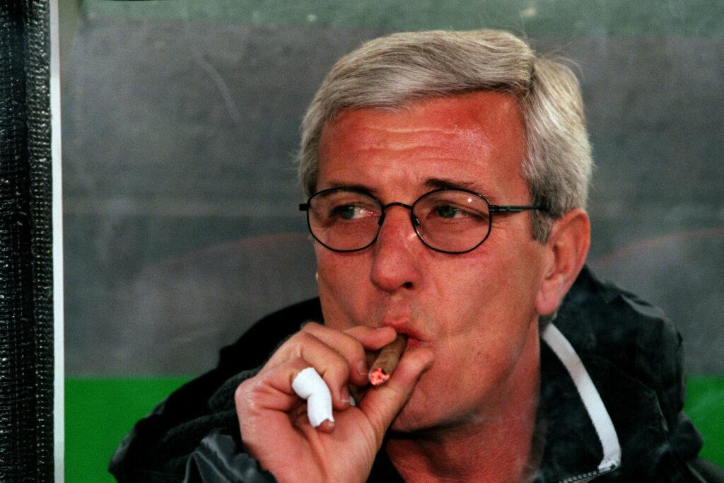 Марчелло Липпи с сигарой