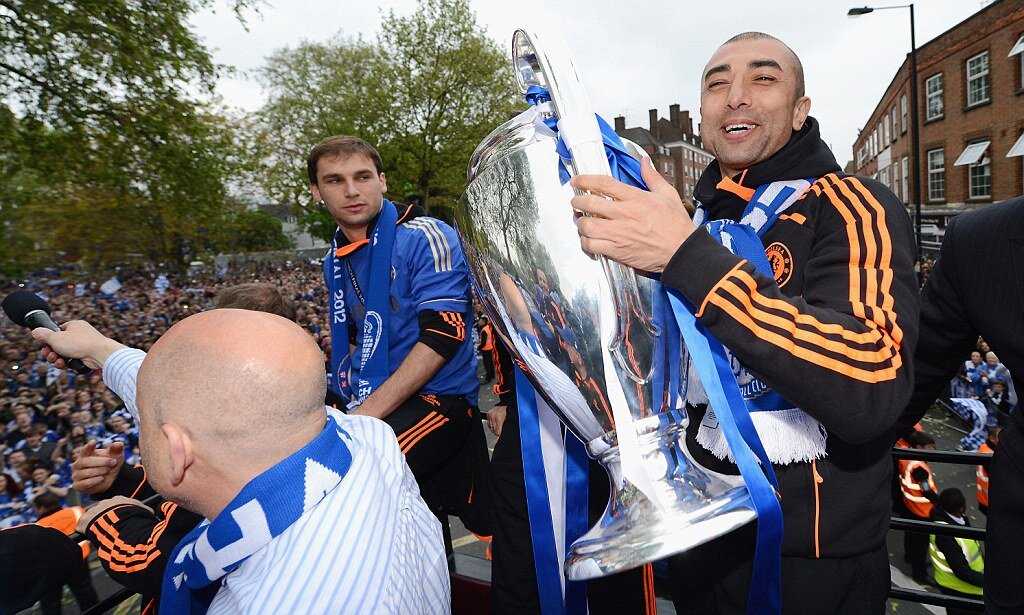 Победитель Лиги чемпионов Роберто ди Маттео