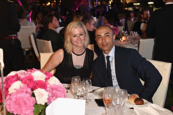 Роберто ди Маттео с женой