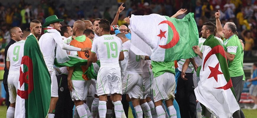 Сборная Алжира на чемпионате мира 2014 года