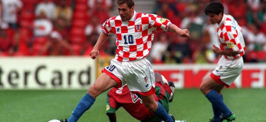 Сборная Хорватии на чемпионате Европы 1996 года