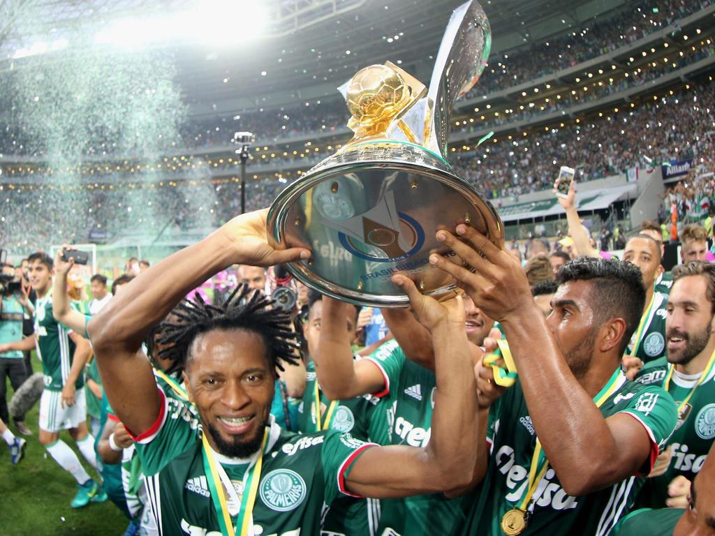 Зе Роберто - чемпион Бразилии