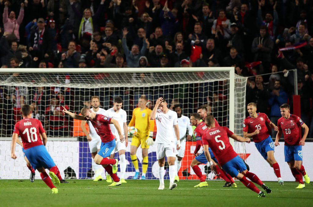 Чехия - Англия: отбор на Евро-2020