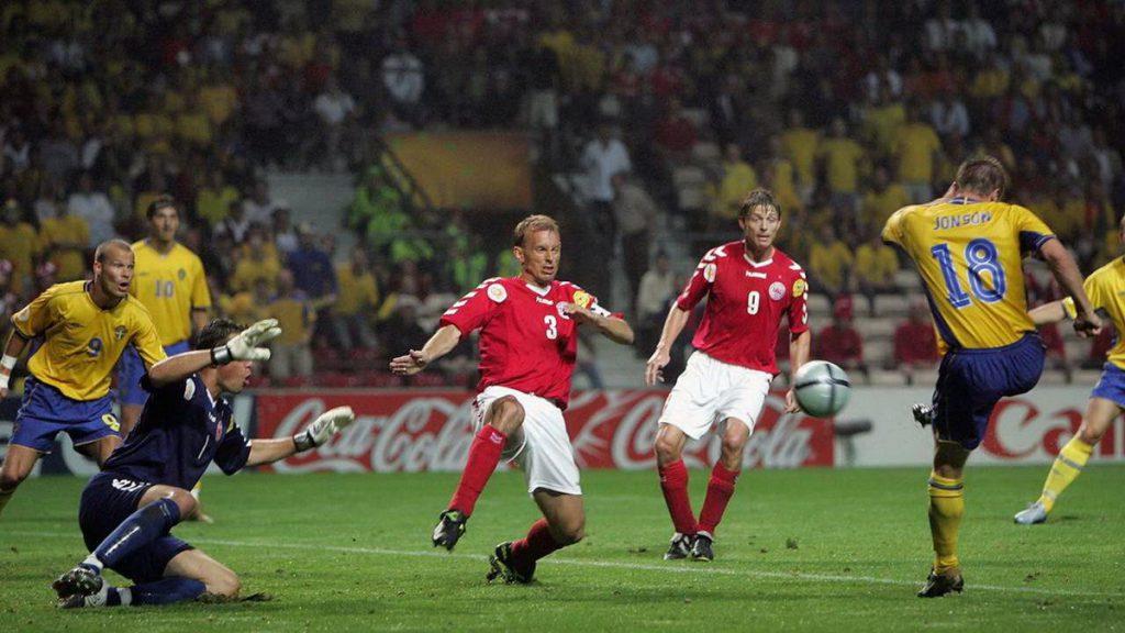 Евро-2004: Швеция - Дания