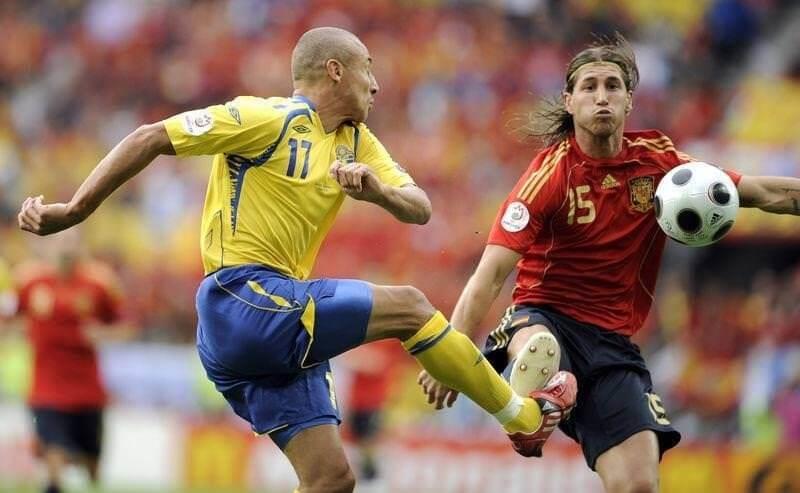 Евро-2008: Испания - Швеция