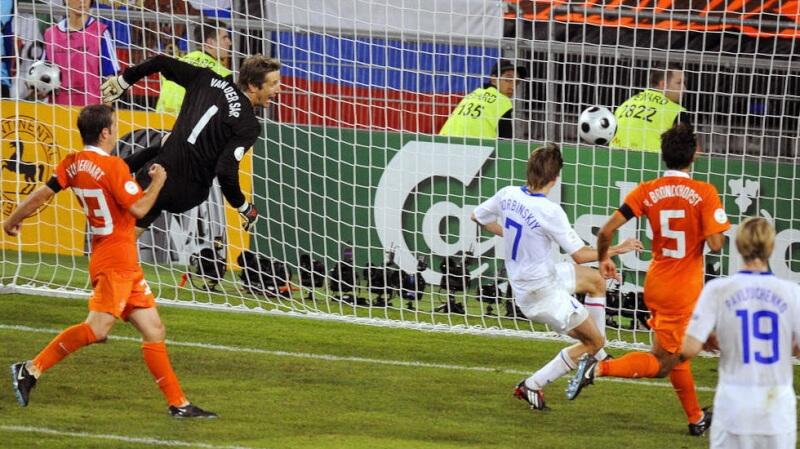 Евро-2008: Россия - Голландия