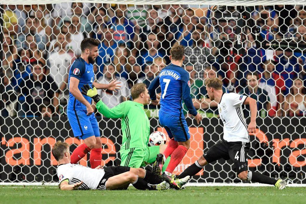 Евро-2016: Франция - Германия