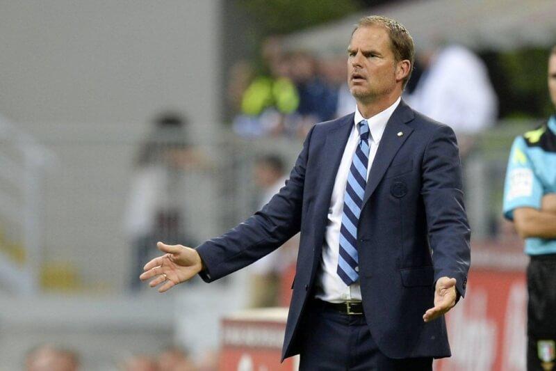 Франк де Бур - тренер сборной Голландии