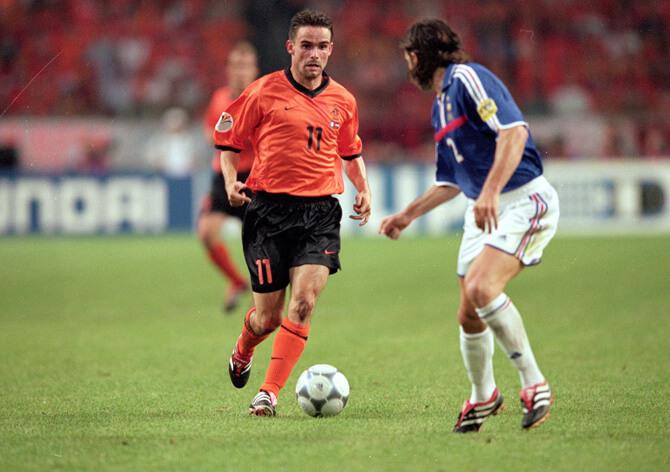 Футболист сборной Голландии Марк Овермарс