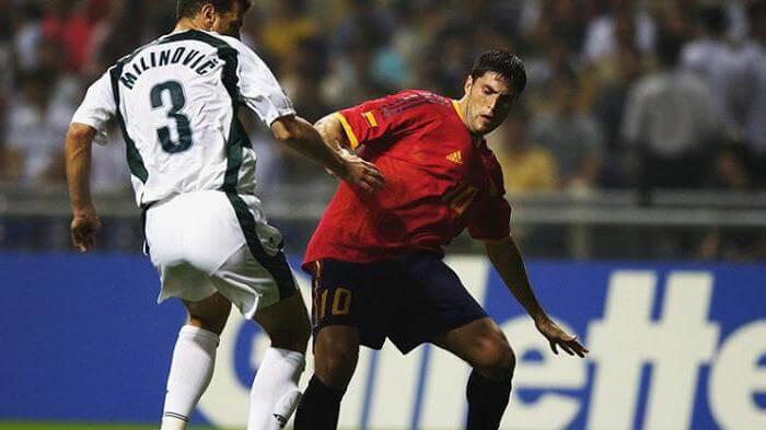 Футболист сборной Испании Диего Тристан