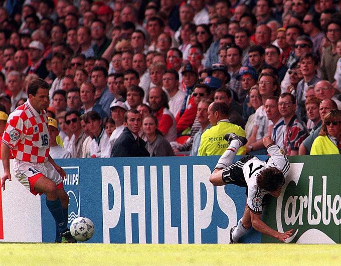 Германия - Хорватия, 1996: эпизод матча