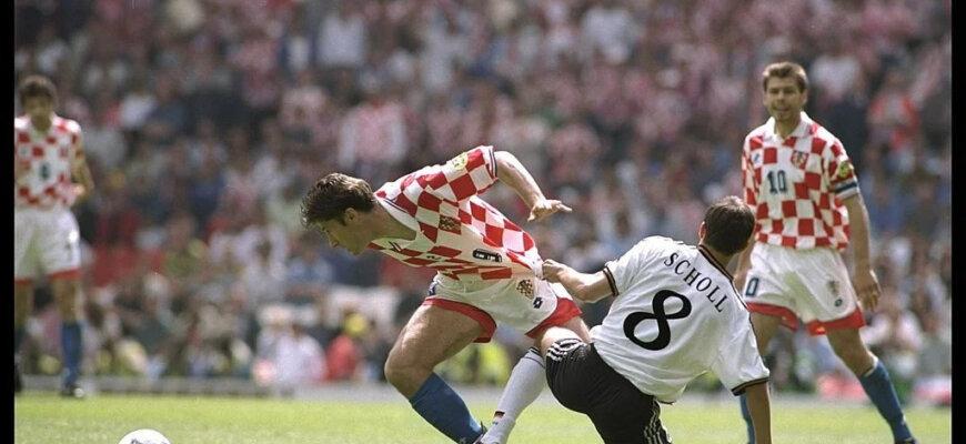 Германия - Хорватия: четвертьфинал Евро-1996
