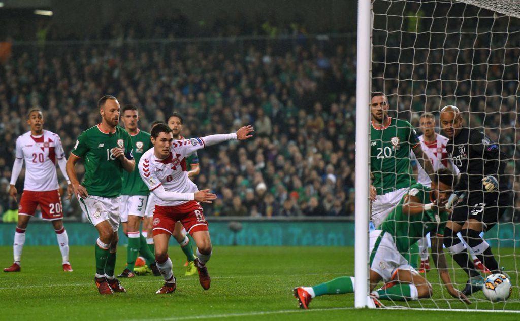 Ирландия - Дания 1:5