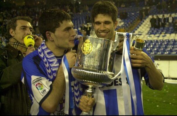 Обладатель Кубка Испании Диего Тристан
