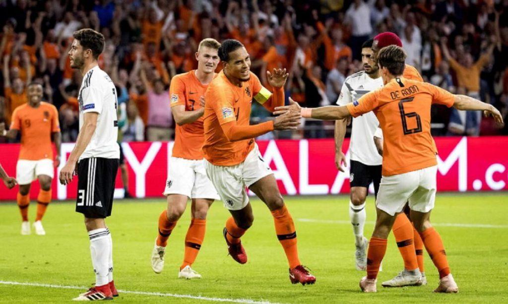 Отбор на Евро-2020: Германия - Голландия