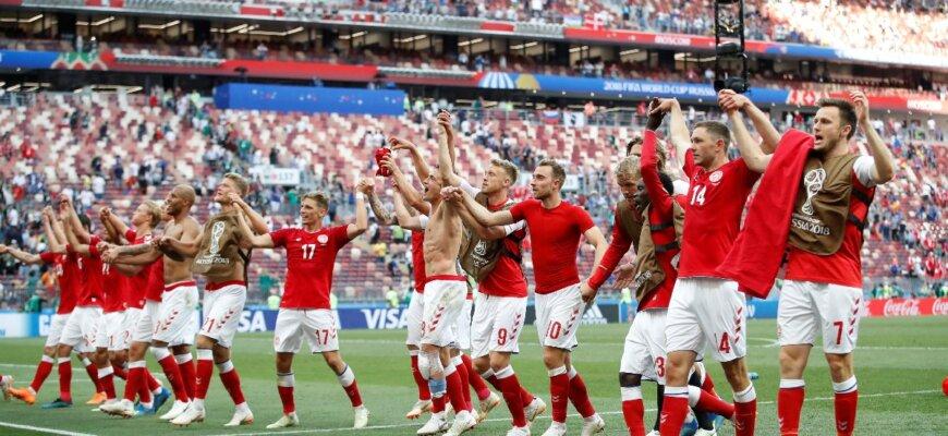 Сборная Дании на чемпионате мира 2018 года