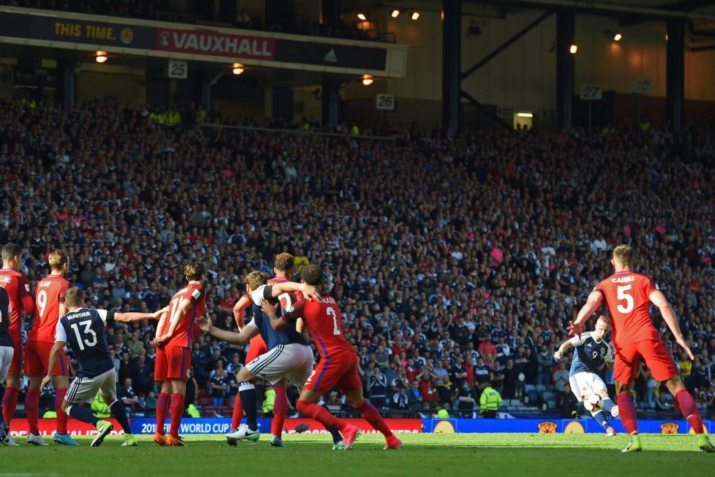 Шотландия - Англия: отбор ЧМ-2018